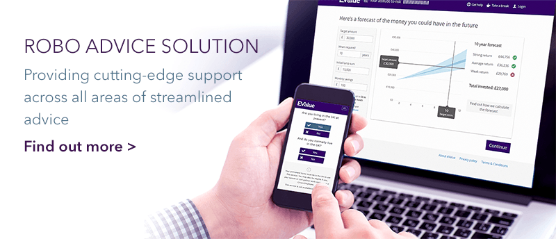 More information on EValue's Robo Adviec solution